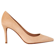 Buy Whistles Richmond Pointed Toe Stiletto Court Shoes, Nude Online at johnlewis.com