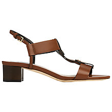 Buy L.K. Bennett Kami Stud Detail Block Heeled Sandals Online at johnlewis.com