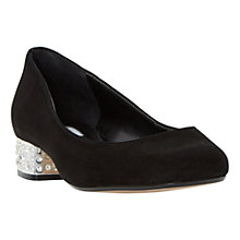 Buy Dune Bijoux Block Heeled Court Shoes Online at johnlewis.com
