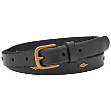 Buy Fossil Studded Jeans Belt Online at johnlewis.com
