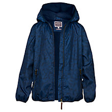 Buy Fat Face Boys' Bug Print Mac Jacket, Blue Online at johnlewis.com