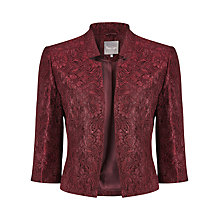 Buy Phase Eight Hansel Jacket, Aubergine Online at johnlewis.com