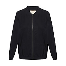 Buy Celuu Kristen Bomber Jacket, Navy Online at johnlewis.com