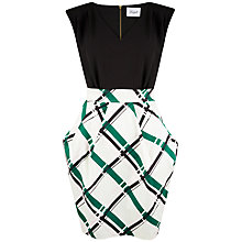 Buy Closet V-Neck Tulip Dress, Multi Online at johnlewis.com