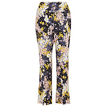 Buy Whistles Wild Floral Selby Trousers, Multi Online at johnlewis.com