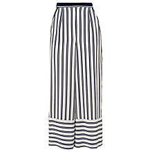 Buy Whistles Cut About Stripe Trousers, Multi Online at johnlewis.com