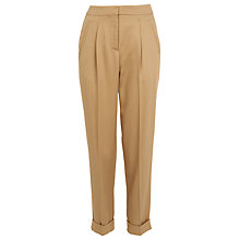 Buy Whistles Pleat Front Twill Trousers Online at johnlewis.com
