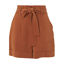 Buy Whistles Cargo Pocket Shorts, Rust Online at johnlewis.com