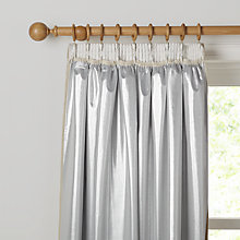 Buy John Lewis Pencil Pleat Metallic Curtain Linings Online at johnlewis.com