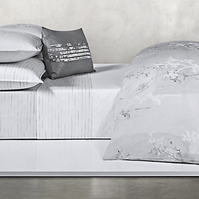 Calvin Klein Claytonia Painted Dashes Fitted Sheet
