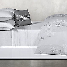 Buy Calvin Klein Claytonia Painted Dashes Fitted Sheet Online at johnlewis.com
