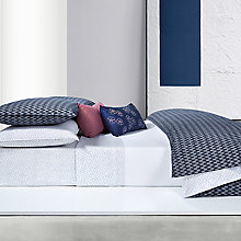 Buy Calvin Klein Aurora Bedding, Indigo Online at johnlewis.com