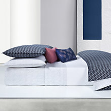 Buy Calvin Klein Afton Dover Fitted Sheet Online at johnlewis.com