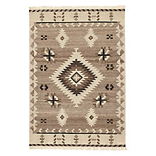 Buy John Lewis Kashgar Kelim Rug, Grey Online at johnlewis.com