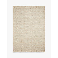 Buy John Lewis Lattice Rug, Lattice White / Natural Online at johnlewis.com