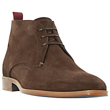 Buy Dune Black Maestro Chukka Boots Online at johnlewis.com