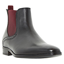 Buy Dune Macsen Chelsea Boots, Black Online at johnlewis.com