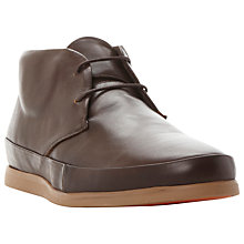 Buy Bertie Clyde Leather Lace-Up Chukka Boots Online at johnlewis.com