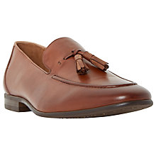 Buy Dune Result Double Tassel Loafers, Tan Online at johnlewis.com