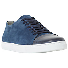 Buy Dune Tate Toecap Cupsole Suede Trainers Online at johnlewis.com