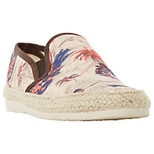 Buy Bertie Fancy Printed Fabric Espadrilles Online at johnlewis.com
