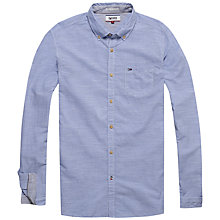 Buy Hilfiger Denim Long Sleeve Stripe Shirt, Estate Blue Online at johnlewis.com