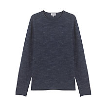 Buy Jigsaw Speckled Sweater, Storm Grey Online at johnlewis.com