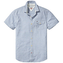 Buy Hilfiger Denim Gingham Short Sleeve Shirt Online at johnlewis.com