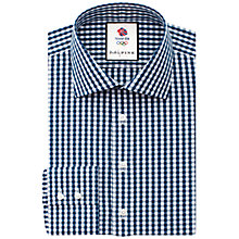 Buy Thomas Pink Cardew Team GB Slim Fit Shirt Online at johnlewis.com