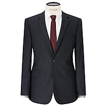 Buy Kin by John Lewis Lux Bowie Textured Slim Fit Suit Jacket, Black Online at johnlewis.com