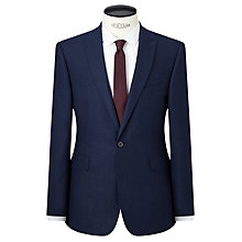 Buy Kin by John Lewis Lux Nixon Crepe Flannel Slim Fit Suit Jacket, Blue Online at johnlewis.com