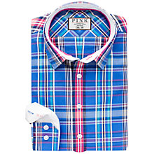 Buy Thomas Pink Ivan Check Slim Fit Shirt Online at johnlewis.com