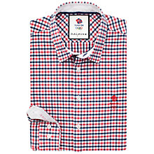 Buy Thomas Pink Cabe Check Shirt, Blue/Red Online at johnlewis.com