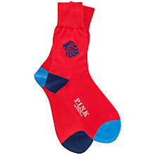 Buy Thomas Pink Tallis Team GB Socks Online at johnlewis.com