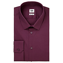 Buy Kin by John Lewis Otis Stretch Poplin Slim Fit Shirt Online at johnlewis.com