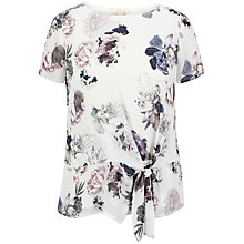 Buy Celuu Cassie Side Tie Blouse, Multi Online at johnlewis.com