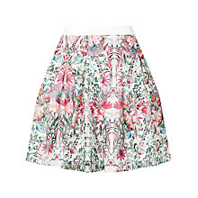 Buy Ted Baker Sadah Layered Bouquet Full Skirt, Cream Online at johnlewis.com