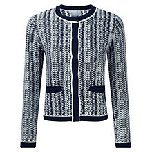 Buy Pure Collection Beulah Cotton Textured Jacket Online at johnlewis.com