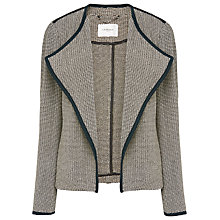 Buy L.K. Bennett Lara Tweed Jacket, Black Online at johnlewis.com