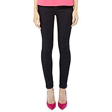 Buy Ted Baker Dorinaa High Waist Skinny Jeans, Rinse Denim Online at johnlewis.com