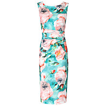 Buy Jolie Moi Floral Printed Shift Dress Online at johnlewis.com