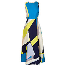 Buy L.K. Bennett Amina Midi Tea Dress Online at johnlewis.com