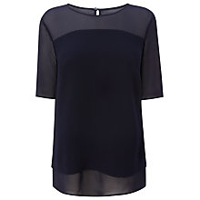 Buy L.K. Bennett Elsa Woven Top Online at johnlewis.com