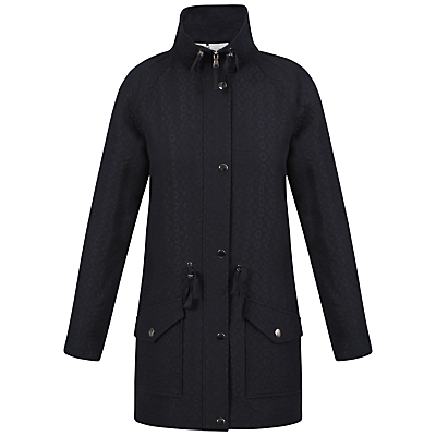 Celuu Alisa Funnel Neck Coat, Navy