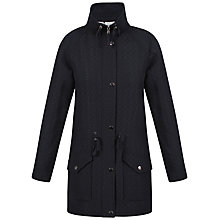 Buy Celuu Alisa Funnel Neck Coat, Navy Online at johnlewis.com