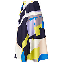 Buy L.K. Bennett Amina Printed Midi Skirt Online at johnlewis.com