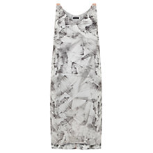 Buy Mint Velvet Nicolette Print Tunic, Grey Online at johnlewis.com