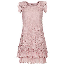 Buy Jolie Moi Crochet Lace Overlay Dress Online at johnlewis.com
