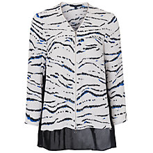 Buy French Connection Crepe Shirt, Multi Online at johnlewis.com