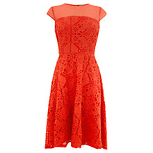 Buy Coast Jasmin Lace Dress, Lipstick Online at johnlewis.com